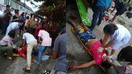 เปิดคลิปนาทีชีวิต! หนุ่มขับกระบะเสียหลักชนกำแพง กู้ภัยช่วยระทึกยื้อชีวิตไม่สำเร็จ