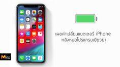 Apple เผยค่าเปลี่ยนแบตเตอรี่  iPhone หลังหมดโปรแกรมเยียวยา มีผลหลังวันที่ 31 ธันวาคมนี้