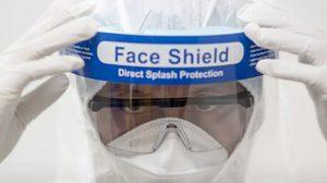 หมอแนะใสแมส คู่ face shield ช่วยป้องกันไวรัสโควิด-19