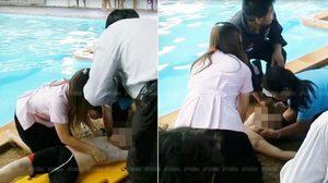 สลด ! เด็กชายวัย 8 ขวบ จมน้ำขณะเรียนว่ายน้ำดับ ครูพยายามยื้อชีวิตไม่ได้ผล