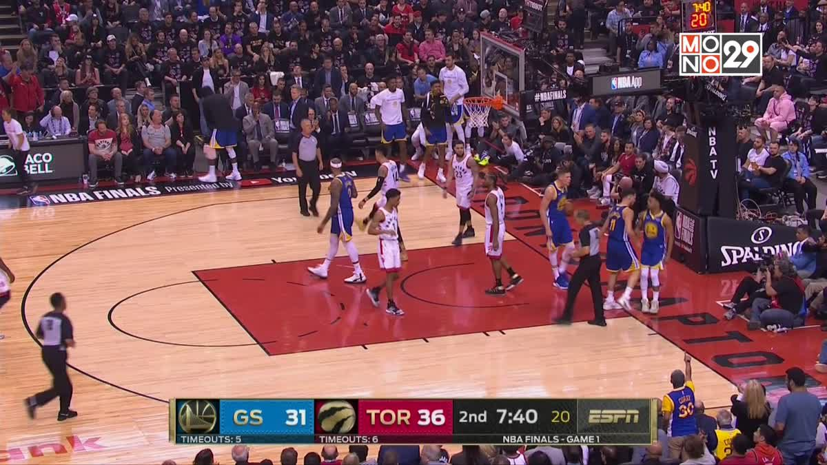 [Highlight] Golden State Warriors VS. Toronto Raptors [Game1]