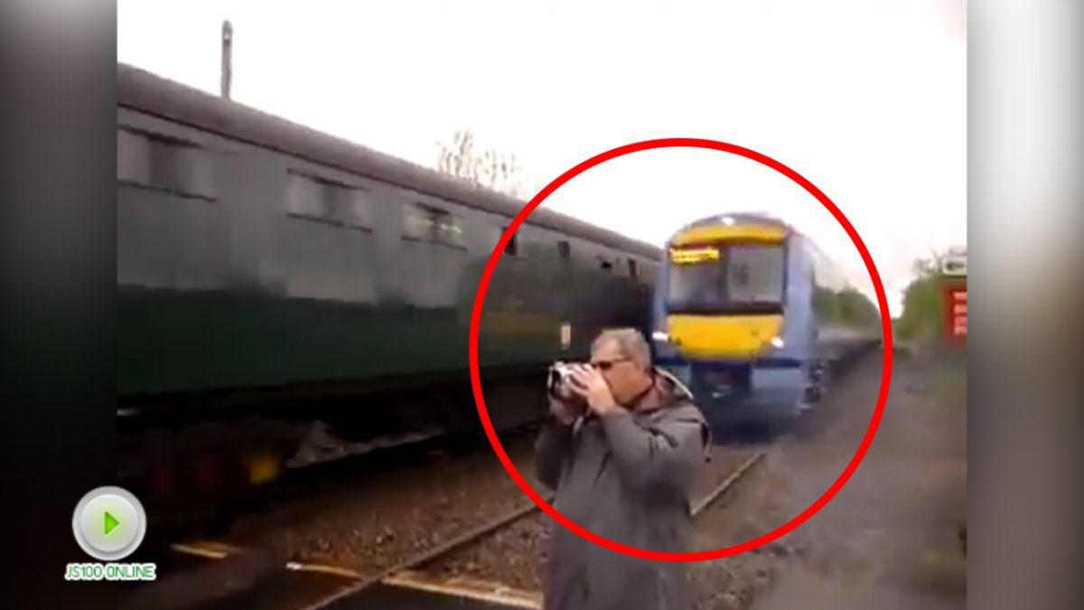 คลิปเตือนภัยอย่างอยู่ใกล้ทางรถไฟมากเกินไป (19-01-61)