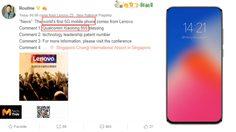 Lenovo เผยจะเป็นรายแรกของโลก ที่ใช้ Snapdragon 855 และรองรับ 5G