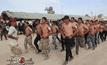 นักรบสุหนี่ชาวอิรักฝึกซ้อมเตรียมรบต้าน IS