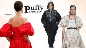 Puffy Sleeves : TOP SUMMER TRENDใหม่ที่น่าสนใจและผู้หญิงไทยต้องลอง ตอน2