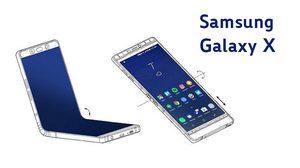 Galaxy X สมาร์ทโฟนจอพับ อาจใช้จอ OLED ขนาด 3.5 นิ้ว ด้วยกัน 3 จอ คาดเปิดตัวในงาน MWC 2019