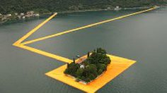มหัศจรรย์ ! ทางเดินลอยน้ำ เชื่อมเมืองกลางน้ำ