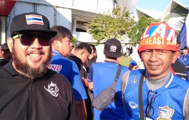 คุยกับกองเชียร์ก่อนนัดชิง ซูซูกิ คัพ 2016