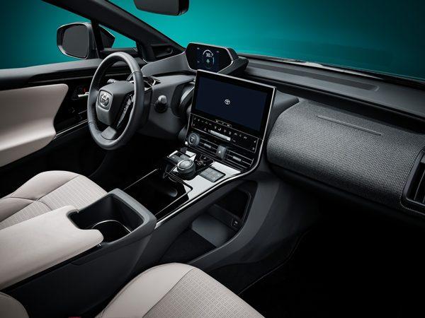 ภายในของ Toyota bZ4X Concept