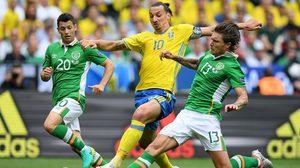 กินกันไม่ลง! ไอร์แลนด์ เสมอ สวีเดน 1-1 ประเดิม ยูโร 2016 กลุ่มอี