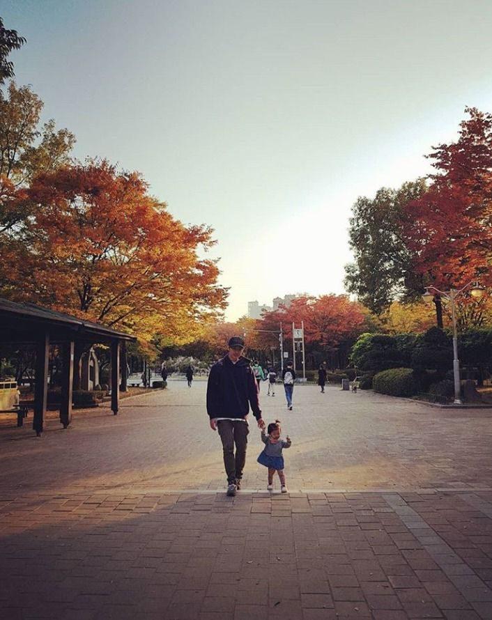 คิมจุน กับลูกสาว