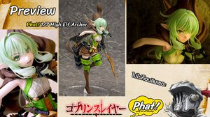 Preview Goblin Slayer High Elf Archer 1/7 Complete Figure (Phat Company)