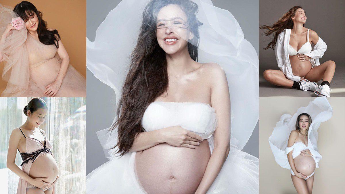 คนท้องเท่านั้นที่เข้าใจ ภาพถ่ายโชว์ท้อง คุณแม่ใกล้คลอด บันทึกแห่งความงดงาม