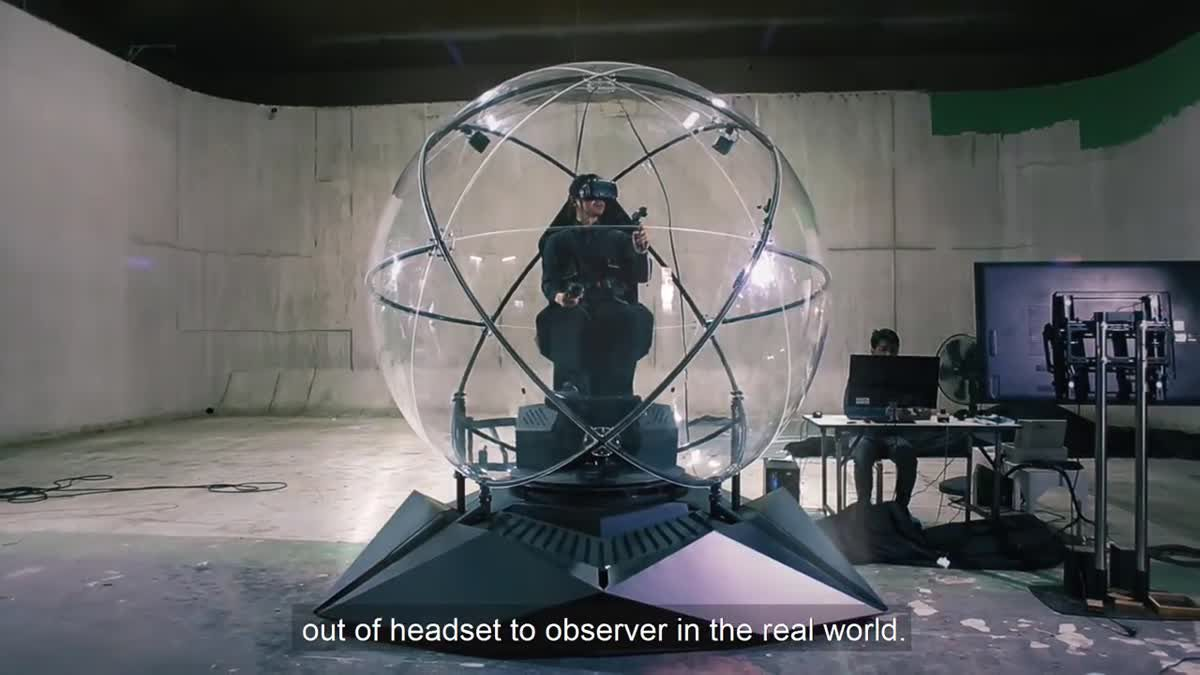 VR Sphere - The Ultimate VR Vehicle เทคโนโลยีฝีมือคนไทย!
