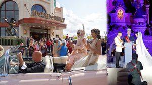 คู่รักเนรมิต ดิสนีย์แลนด์ ปารีส ให้เป็นงานแต่งงานในฝัน งดงาม ราวกับเทพนิยาย