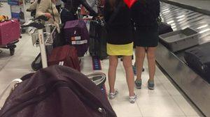 แห่แชร์! กระทู้รณรงค์ให้ยืนหลังเส้น ระหว่างรอรับกระเป๋าที่สนามบิน
