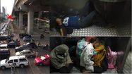 การรถไฟแจง คลิปรถไฟจอดให้รถยนต์- ภาพผู้โดยสารนั่งบนพื้น