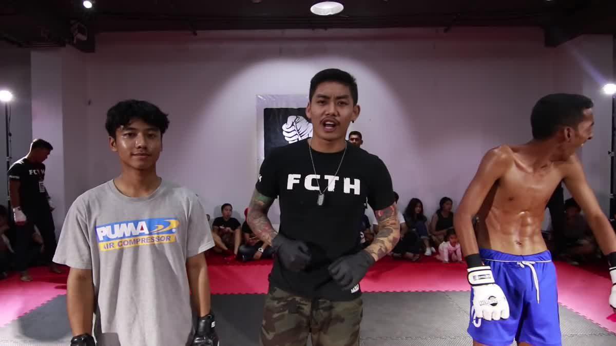 Fight Club Thailand 2017 สุกิต x เก้า 999 คู่ที่ 205