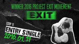 WINNER คัมแบ็ค 'EXIT MOVEMENT' 5 สเต็ป เริ่ม 11 ม.ค. นี้