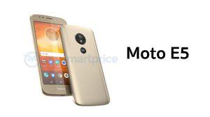 หลุดภาพ Moto E5 ย้ายเซนเซอร์ไปไว้ด้านหลังจุดเดียวกับโลโก้ตัว M
