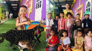 เก็บตกวันสุนทรภู่ กิจกรรมโรงเรียน เด็กๆ แต่งชุดตัวละครจากพระอภัยมณีน่ารัก