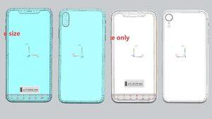หลุดดีไซน์ล่าสุด iPhone X Plus จอขนาด 6.5 นิ้ว พร้อมกล้องหลัง 3 ตัว!!!
