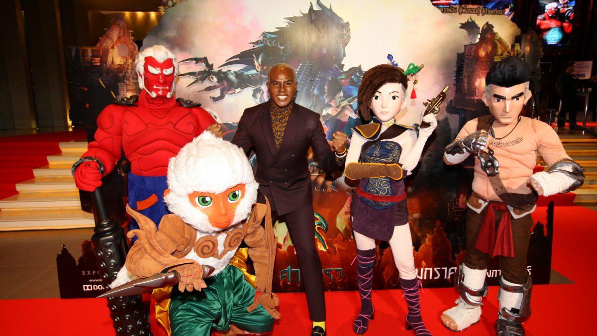 คนดังคับคั่งแห่ร่วมงานกาล่าพรีเมียร์ภาพยนตร์แอนิเมชั่นไทย ๙ ศาสตรา