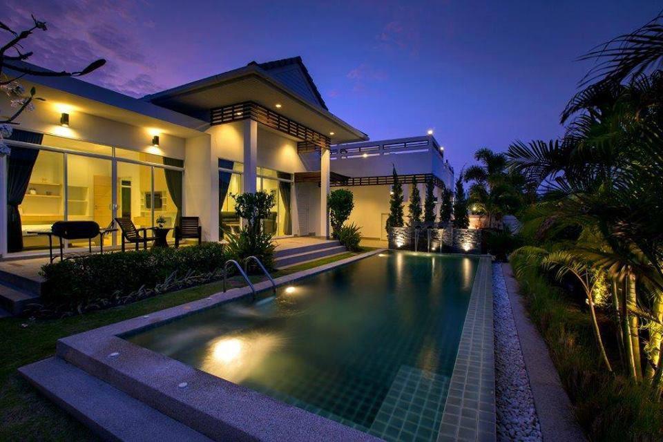 10 บ้านพักพูลวิลล่าที่หัวหิน The Elegance (C) House Hua Hin Pool Villa
