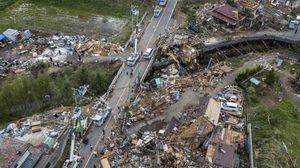 ประมวลภาพความเสียหายหลัง 'ไต้ฝุ่นฮากิบิส' ถล่มญี่ปุ่น