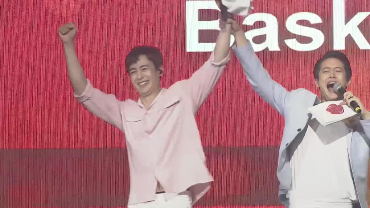 นิชคุณ ร้อง-เล่นเต็มที่! พา ชานซอง-จุนโฮ ร่วมแจมแฟนมีตติ้งเดี่ยวครั้งแรกในไทย
