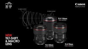 Canon เปิดตัว เลนส์ tilt-shift ตระกูล L-series ใหม่ 3 รุ่น ตอบโจทย์การใช้งานระดับมืออาชีพ