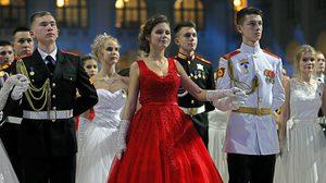 ส่องภาพ บรรยากาศงานเลี้ยงเต้นรำของนักเรียนเตรียมทหารรัสเซีย