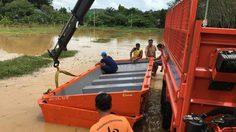 ปภ.รายงานเกิดอุทกภัย 5 หมู่บ้าน ประจวบคีรีขันธ์ เร่งช่วยเหลือ