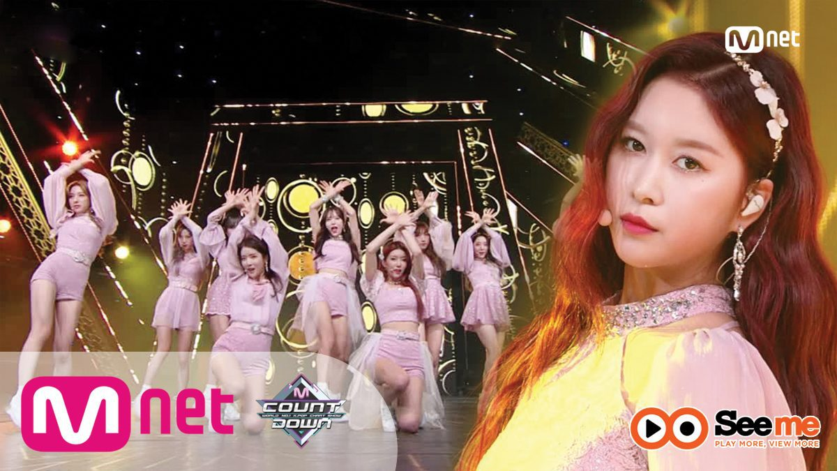 [WJSN - La La Love] KPOP TV Show | M COUNTDOWN 190117 EP.602