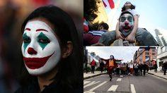 ผู้ประท้วงใน เลบานอน และชิลี ใช้ Joker เป็นสัญลักษณ์เพื่อต่อต้านรัฐบาล