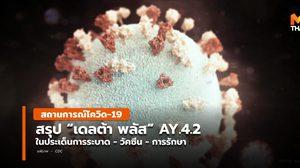 [สรุป] โควิด-19 สายพันธุ์เดลต้าพลัส AY.4.2