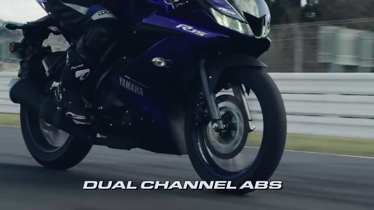 เปิดคลิป Yamaha YZF-R15 V3.0 ABS ที่เพิ่งเปิดตัวที่อินเดีย