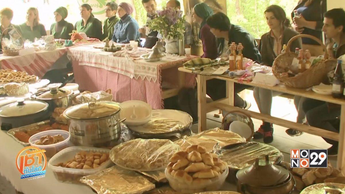 เทศกาลเฉลิมฉลองอาหารพื้นเมืองบอสเนีย