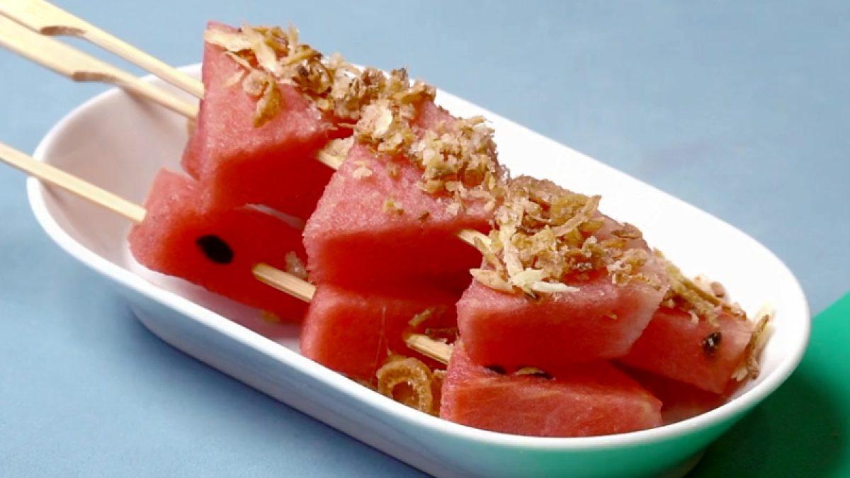 วิธีทำ แตงโมปลาแห้ง เมนูโบราณเอาไว้ดับร้อน