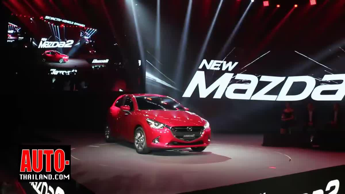 Mazda 2 รุ่นปรับโฉมใหม่ ปี 2017 เพิ่มออฟชั่น กับ G-VECTORING CONTROL