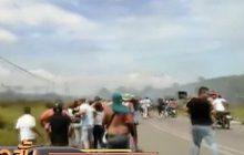 เหตุปะทะหลังปิดพรมแดนเวเนฯ-บราซิล