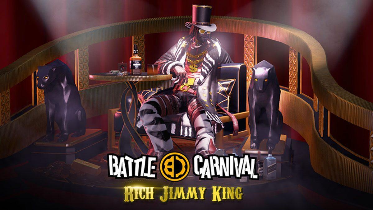 [ตัวอย่างเกม] Battle Carnival ชวนล่าท้าภารกิจเดือดรับสกินใหม่ Rich Jimmy King ฟรี!