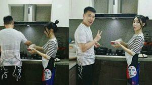 หวานวนไปค่ะ! ซองมิน Super Junior โพสภาพสวีทเว่อร์กับภรรยา