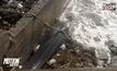 ซากปลาวาฬเกยตื้นเกาะสมุย