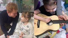 Ed Sheeran บริจาคกีตาร์พร้อมลายเซ็นต์ หาเงินช่วยเหลือแฟนคลับที่ป่วย