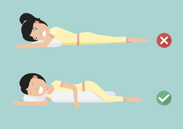3 ท่านอนที่ดีต่อสุขภาพ แก้อาการปวดหลัง นอนหลับสบายตลอดคืน!