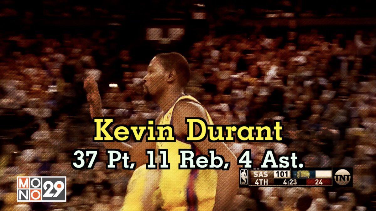 Kevin Durant 37 Pt.  11 Reb  4 Ast.