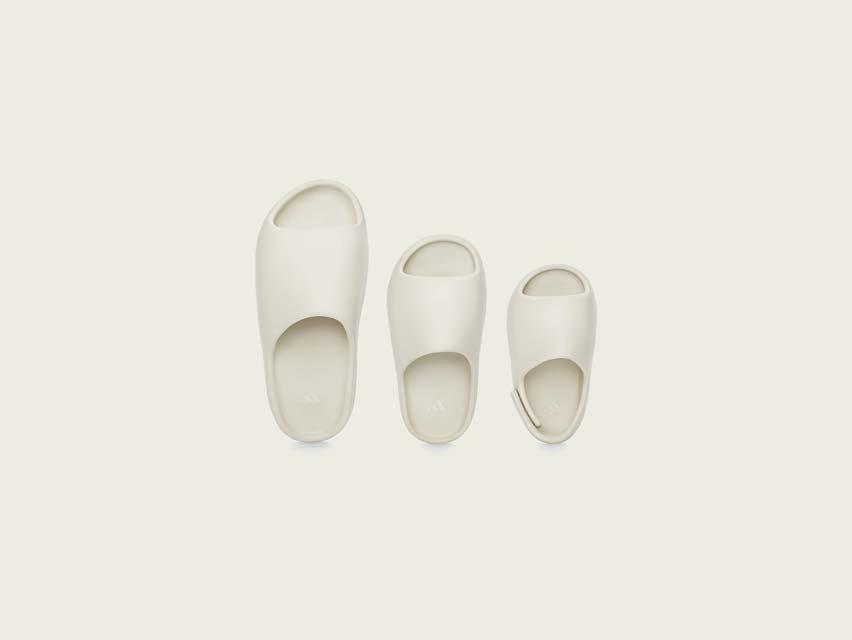 3 รองเท้าแตะสุดคูลรับซัมเมอร์ ตระกูล YEEZY SLIDE อาดิดาสxคานเย เวสต์