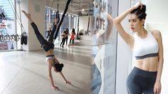 แพนเค้ก VS เกรซ กาญจน์เกล้า ฟิตหุ่นสวย ออกกำลังกายโชว์ท่ายาก!!