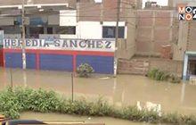 เหตุท่อระบายน้ำแตกในเมืองหลวงของเปรู